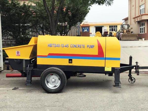 Máy bơm bê tông Diesel đến Uzbekistan