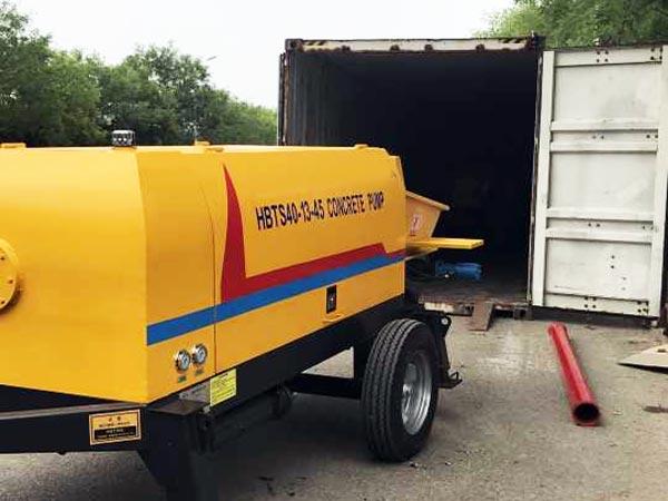 bơm bê tông diesel là đấm bốc