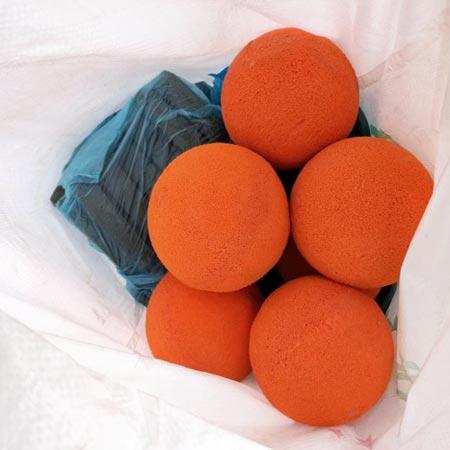 rửa bóng bơm bê tông