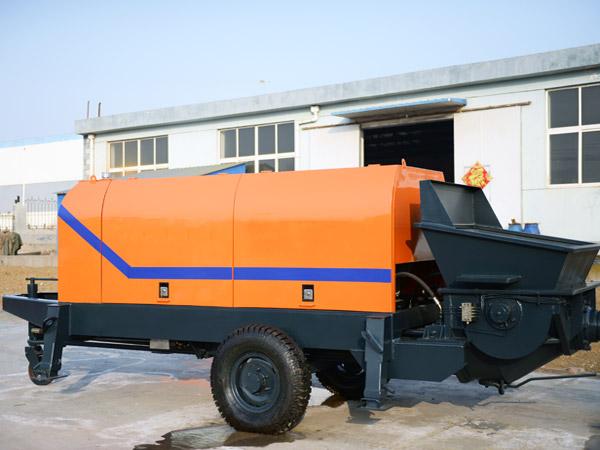 HBT90 điện trailer bơm bê tông