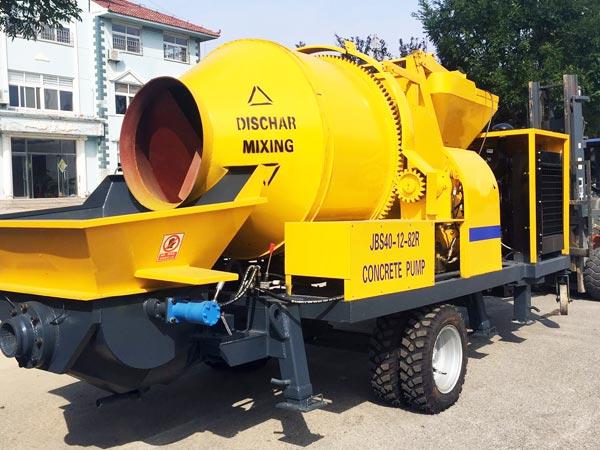 JBS40 mini concrete mixer pump