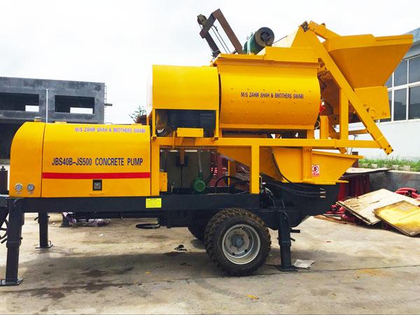 forced mixer pump JBS40-JS500