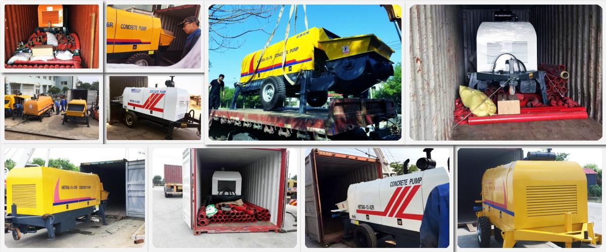 xuất khẩu máy bơm mini ra nước ngoài
