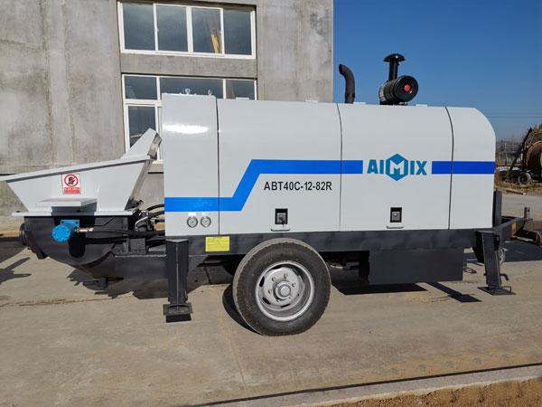 Cung cấp máy bơm bê tông diesel ABT40C