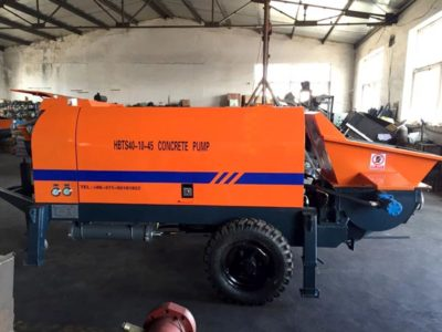 Electric Concrete Pump HBTS40