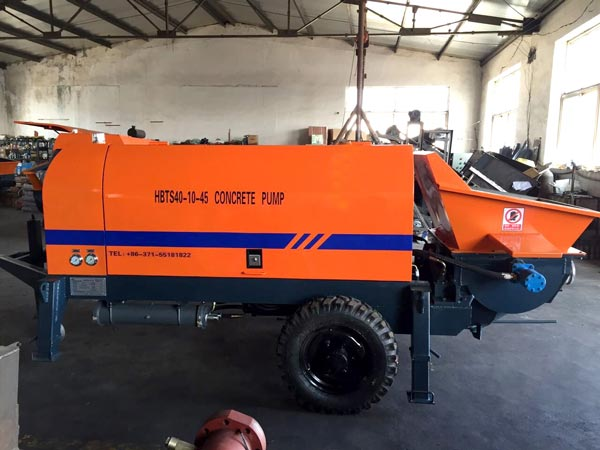 ABT40D small concrete pump