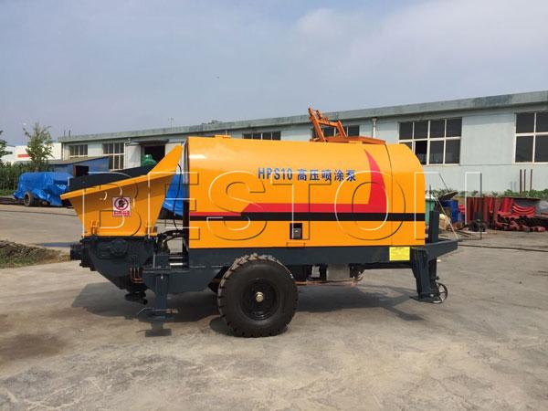 HPS10 cement pump