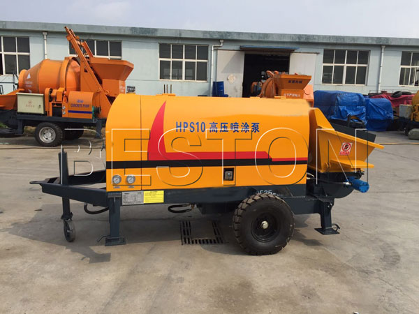 cement mortar pump