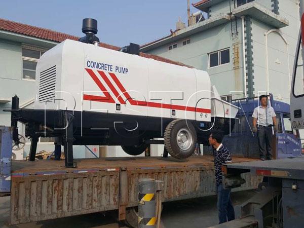 delivering hydraulic pump