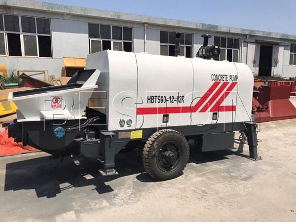 diesel concrete pumping machine