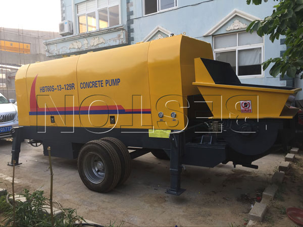 diesel ready mix pump