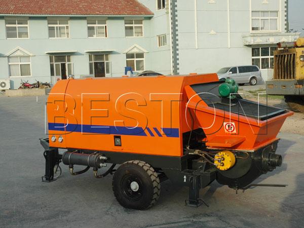 electric concrete pumping machine