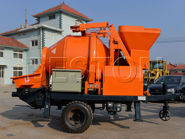 good-quality cement mixer pump