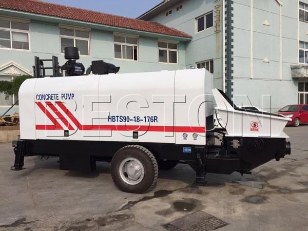 hydraulic concrete pump