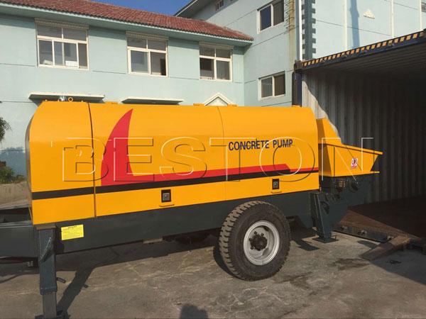 manual concrete pump
