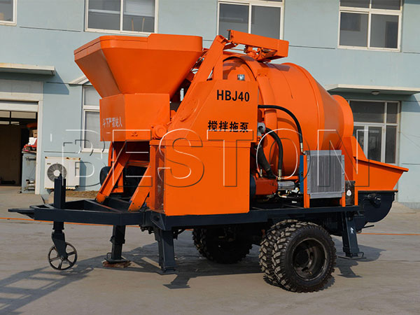 roller-type mixer pump