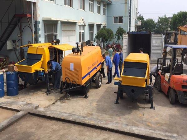 Vietnam concrete pump