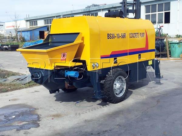 concrete pump equipment