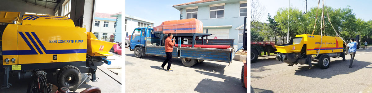 Electric Concrete Pump is Delivering to Many Countries