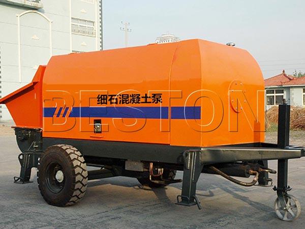 Fine Aggregate Concrete Pump