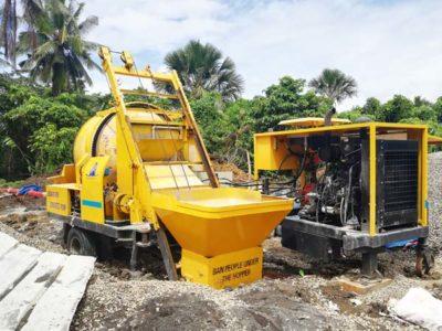 Concrete Pump on Site