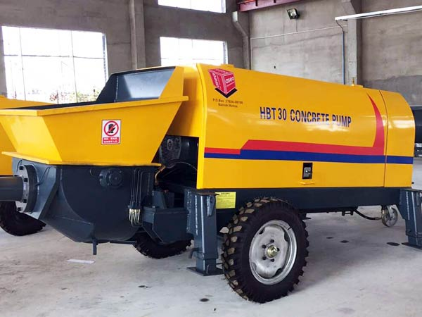 30 m3/h mini concrete pump