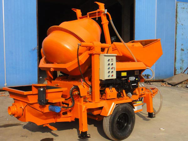 HBT0804-JZC200 concrete mixer pump