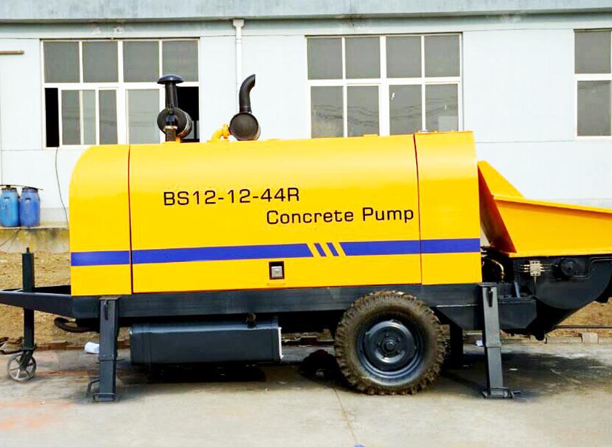 Small Concrete Pump Small Portable Concrete Pump