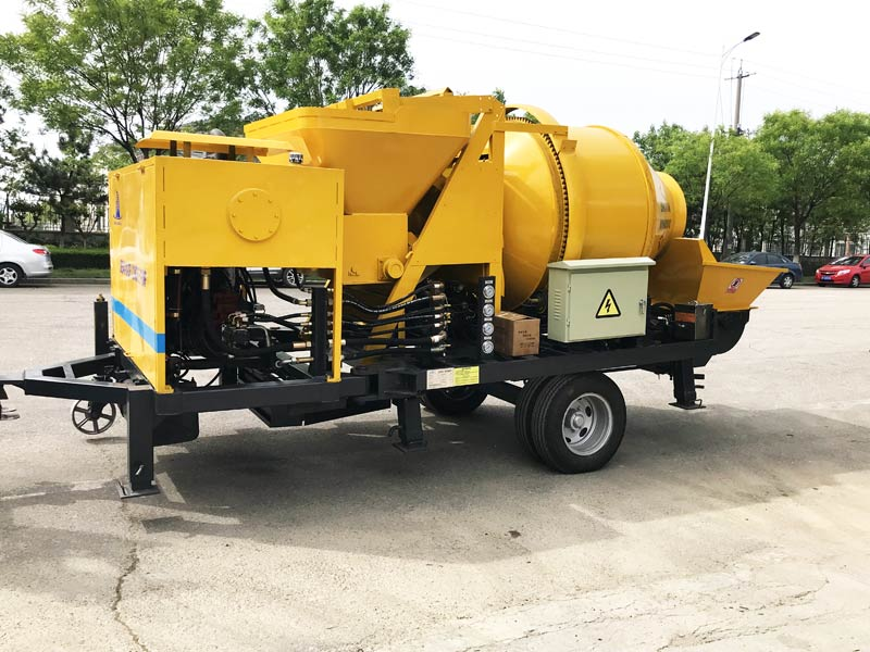 Mobile Concrete Mixer With Pump - Mobile Concrete Pump for Sale