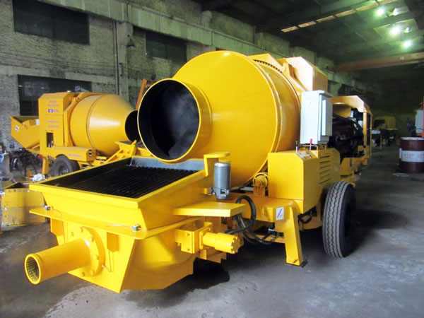 diesel concrete mixer pump for sale