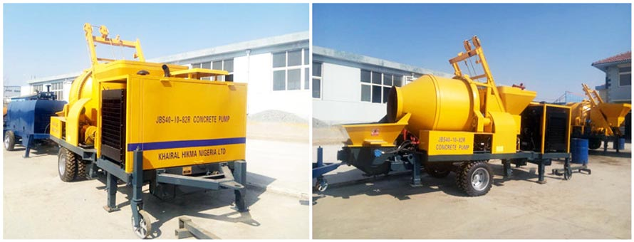 diesel concrete pump ready to Fiji