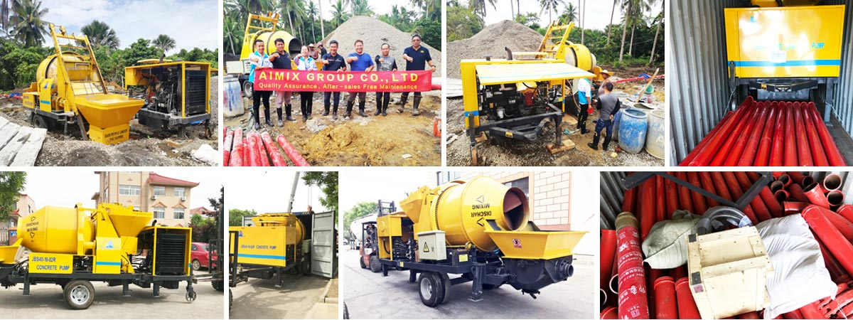 Concrete Pump After-sale service in Philippines