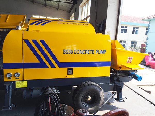 BS30 electric ready mix pump
