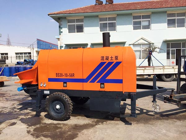 BS30 trailer concrete pump