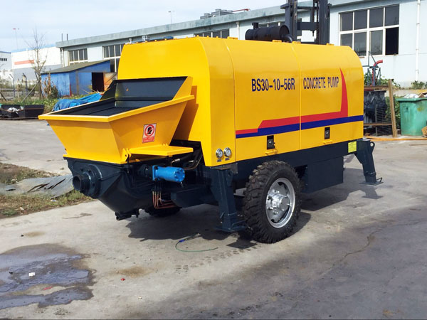 BS30 Diesel Trailer Concrete Pump