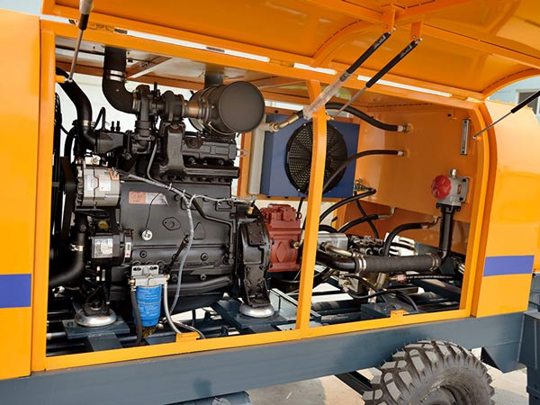 Pompa Campuran Siap Mesin Diesel