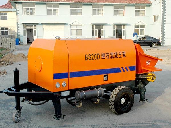 Concrete Pumping Machine,Trailer concrete pump,Concrete