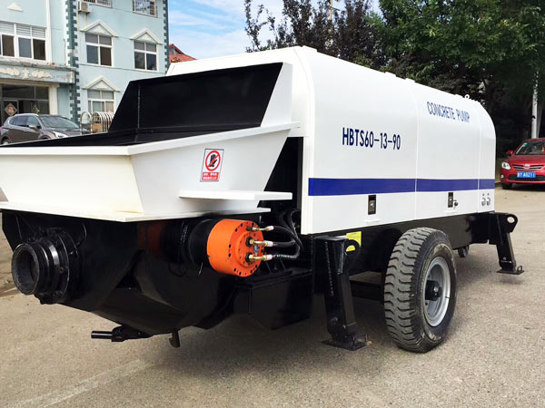 HBT60 electric ready mix pump
