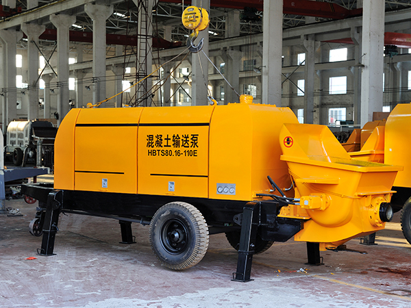 HBT80 electric trailer concrete pump