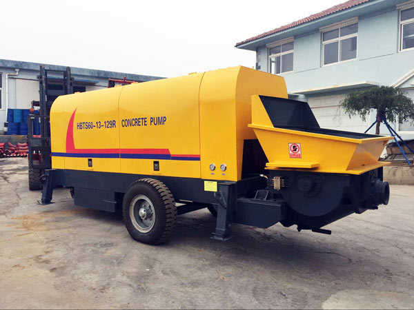 HBTS60 Diesel Ready Mix Pump