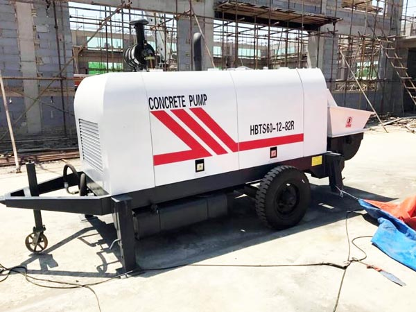 ABT60C Concrete Pump Machine