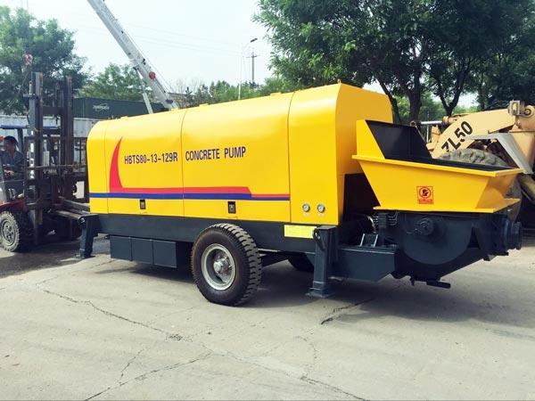 hydraulic diesel concrete pump