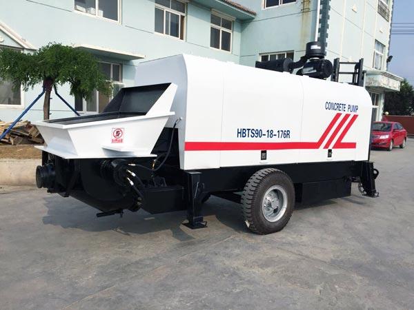HBTS90R Diesel Trailer Pump