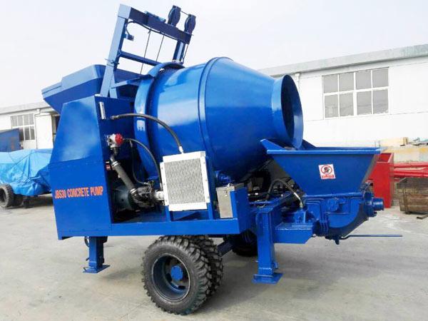 ABJZ30D Concrete Mixer With Pump For Sale