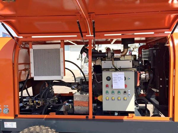 Pompa Siap Pakai dengan Mesin Listrik