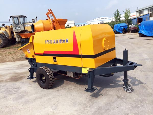 cement mortar concrete pumping machine