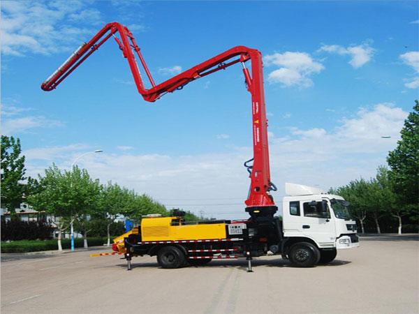 44m شاحنة مضخة ملموسة