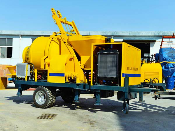 ABJZ30C Diesel Small Mixer Pump