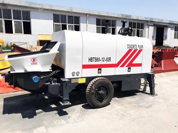 manual diesel concrete pump