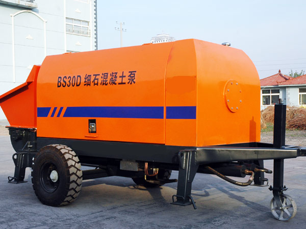 manual electric concrete pump